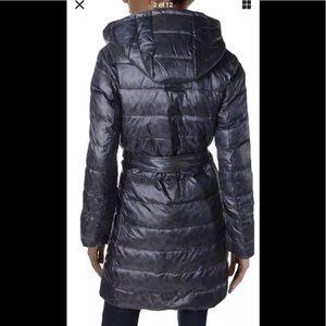 ELLEN TRACY Womens Hooded Down Jacket E528822